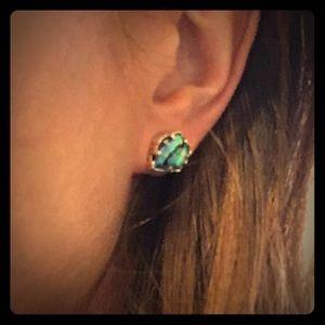 Kendra Scott Tessa Stud Earrings—Abalone